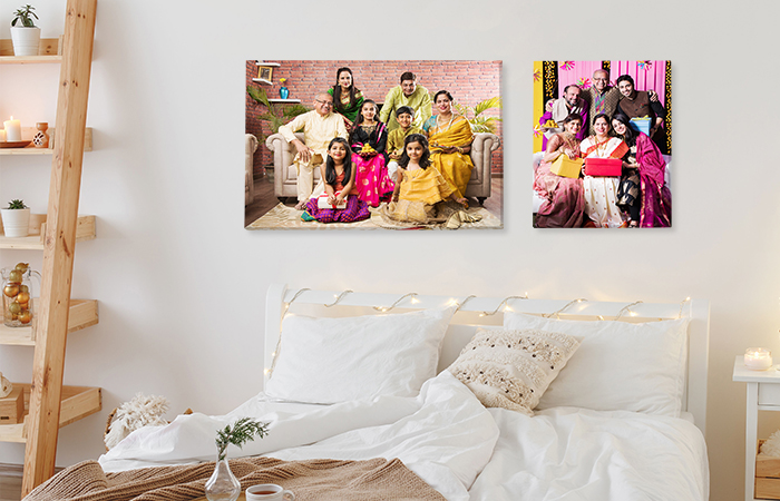 Family Canvas Prints As Diwali Gift
