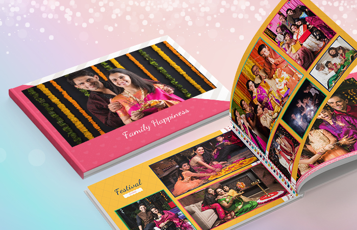 Happy Family Photo Books As Diwali Gift