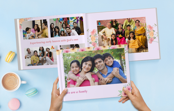 Celebrate family togetherness with Family Photo Albums