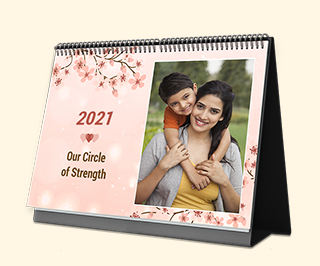 Photo Calendar with Gift Card