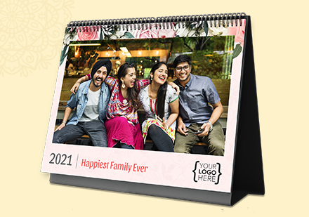 Family Photo Calendar As Corporate Gift