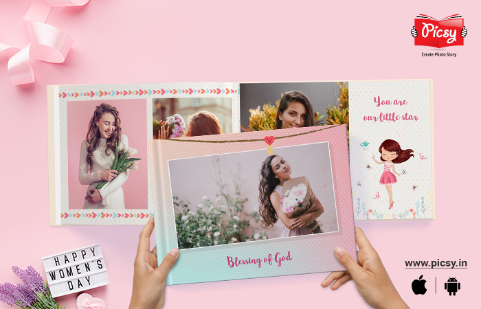 Best Women's day gift ever – Personalized Photo book