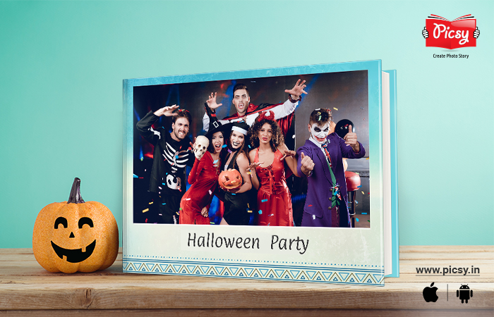 Photo Book Cover Of Halloween Party