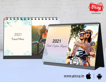 Creative ideas to gift someone a personalized calendar 2021