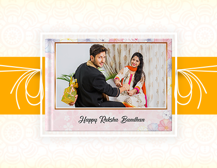 …And The Best Gift For Raksha Bandhan is – Picsy Personalized Sweet Siblings Photo Books