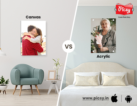 Canvas Prints vs. Acrylic Prints: Which is Better