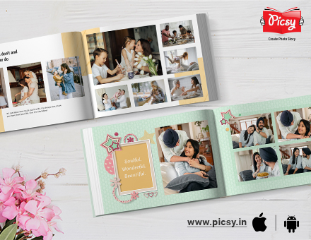 Make Your Own Photo Book: Step By Step guide To Create DIY Photo Books Online