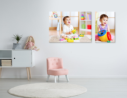3 Brilliant Baby Photo Canvas 