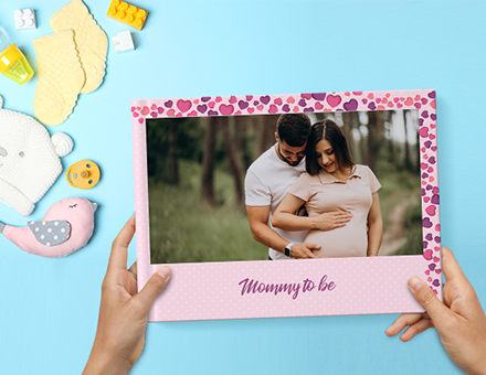 5 Pregnancy photo album ideas