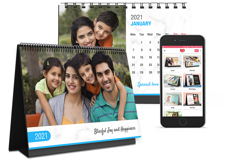 Personalized Photo Calendars  - Picsy