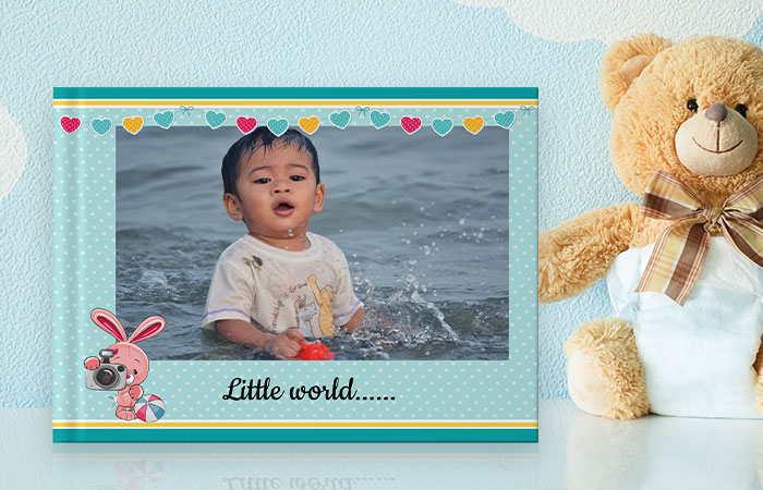 Baby book banner