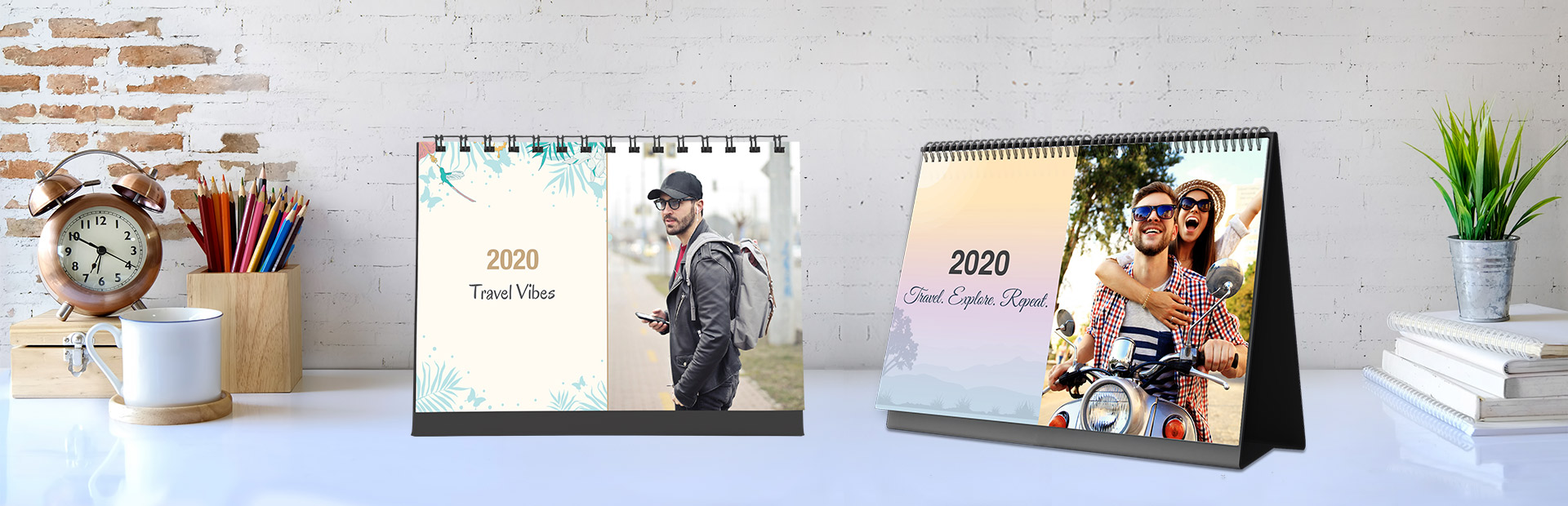 Travel Desk Calendars Online