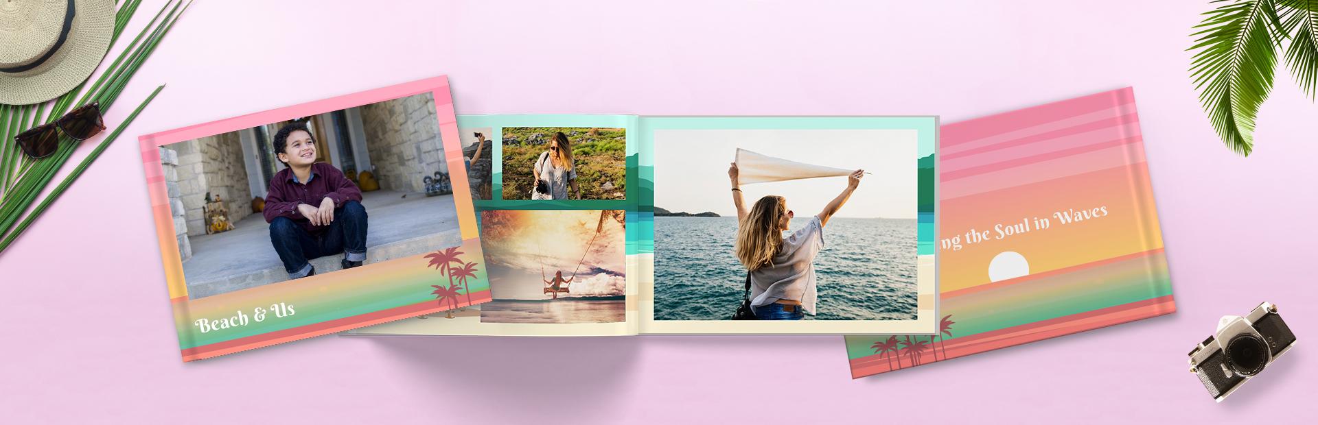 Beach Holidays Custom Photo Books