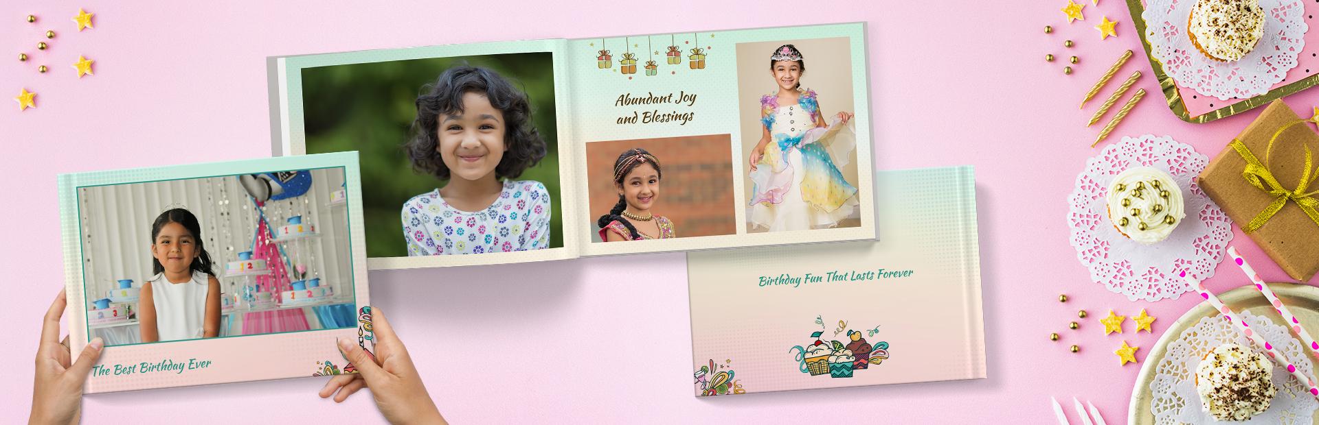 Birthday Joy Photo Albums Printing