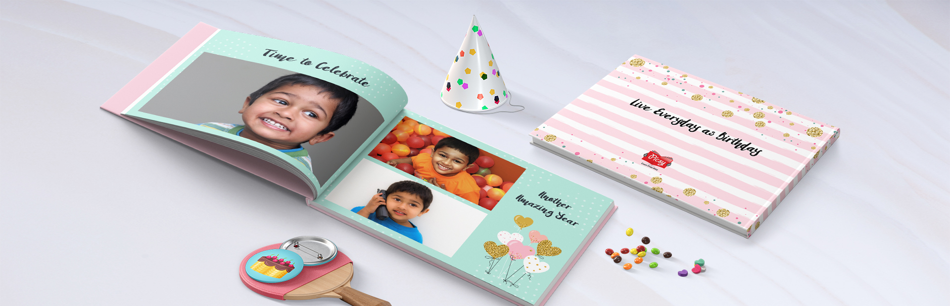 Birthday Story Custom Photo Books