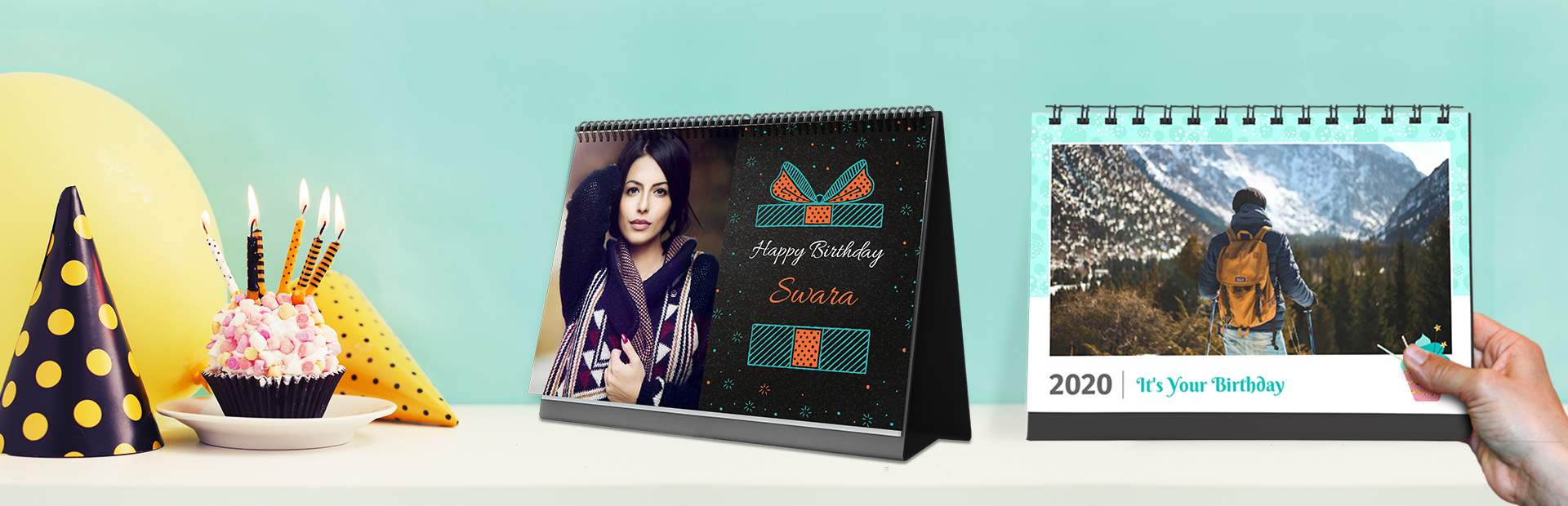 Birthday Desk Calendars Online