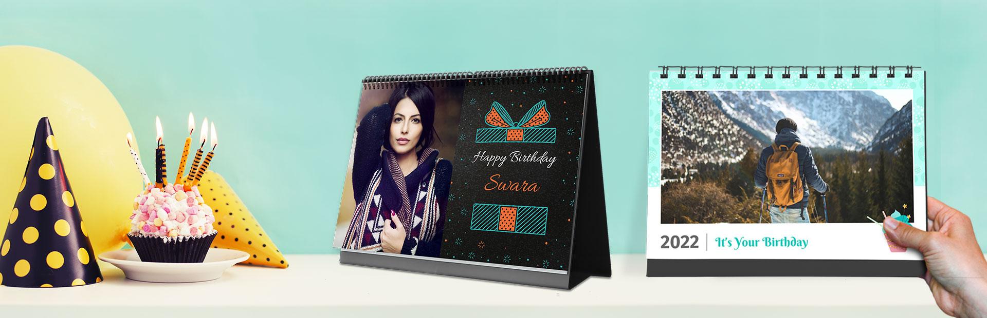 Birthday Desk Calendars Online