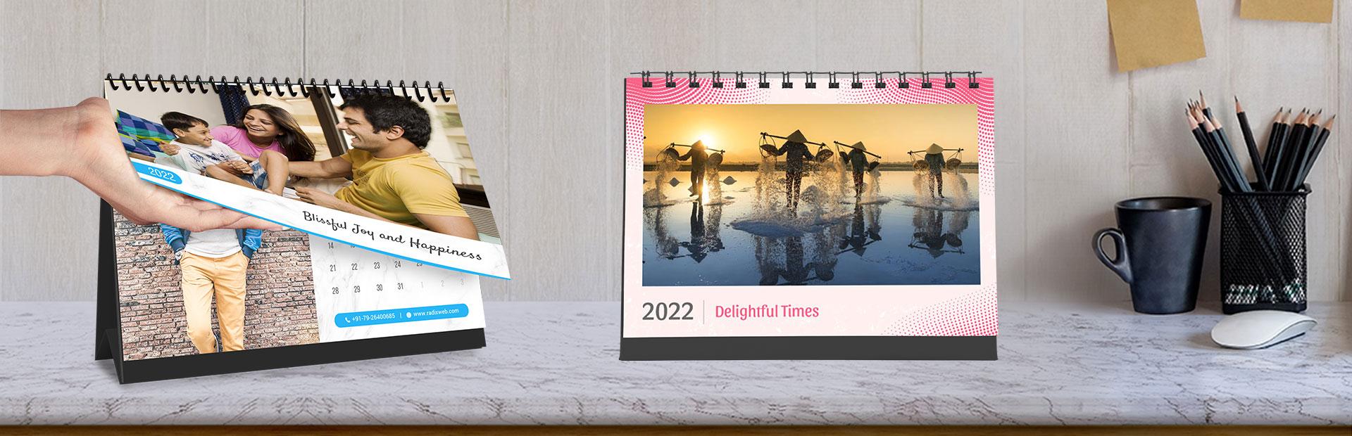 Classic Desk Calendars Online
