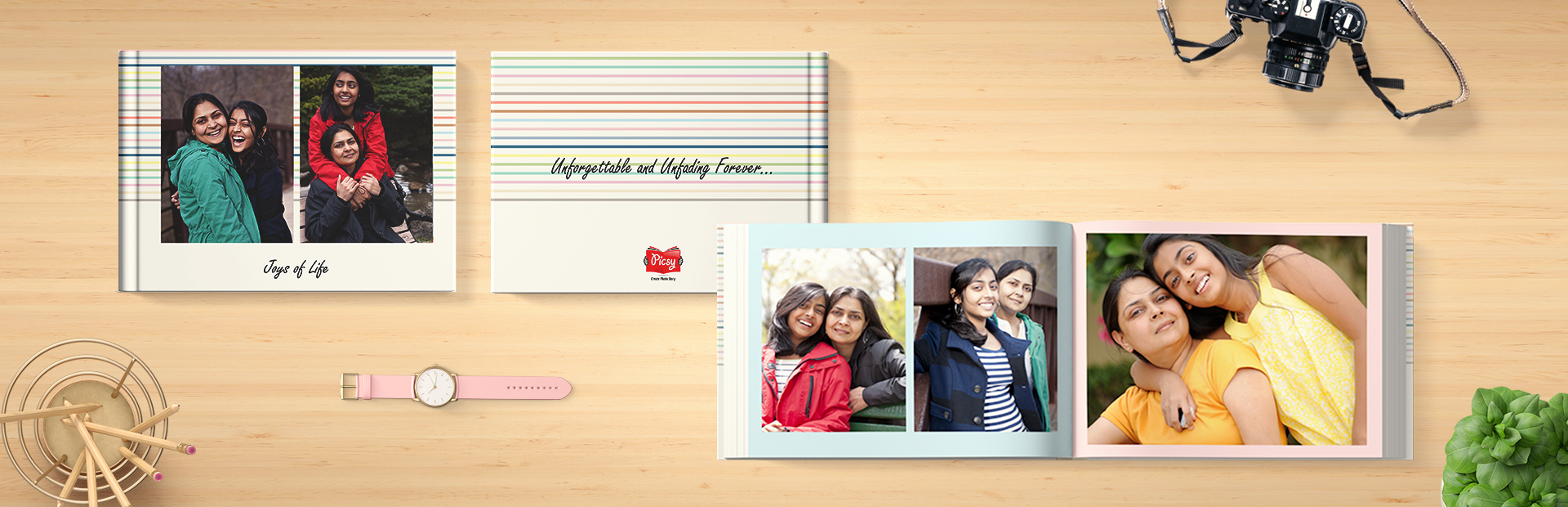 Colors Wrapped Photo Books Printing