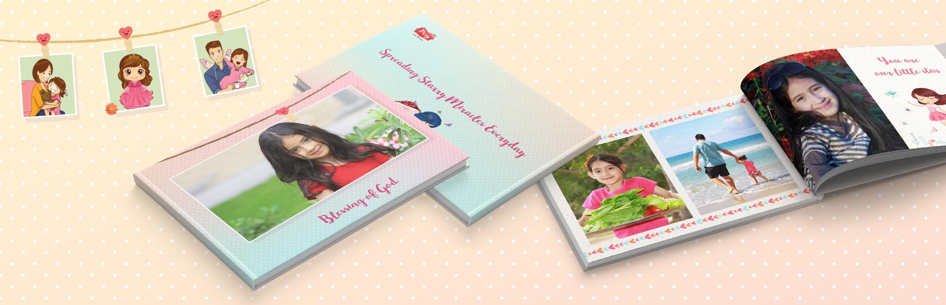 Daughters Delight Custom Photo Books