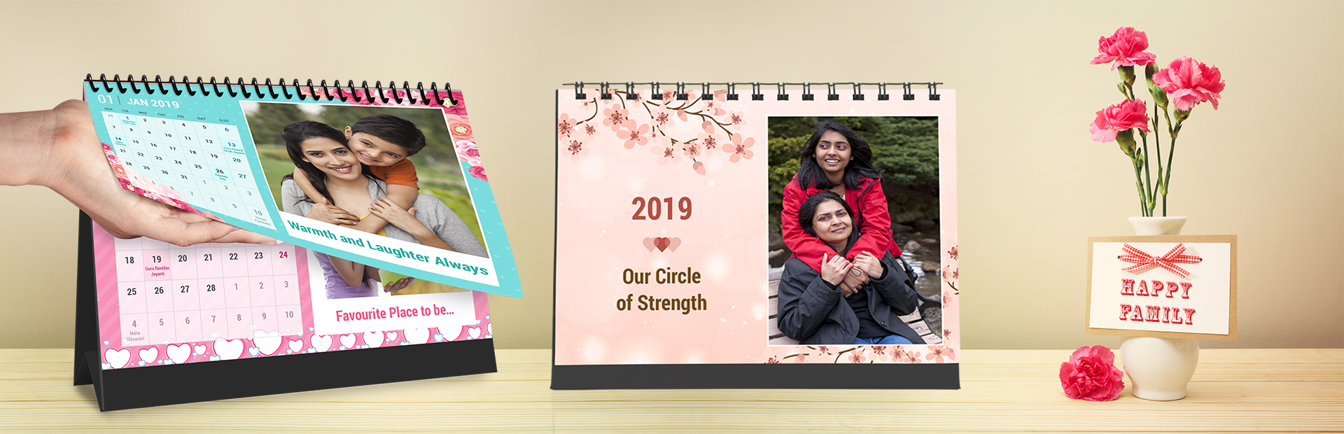 Family Joy Photo Calendars Online