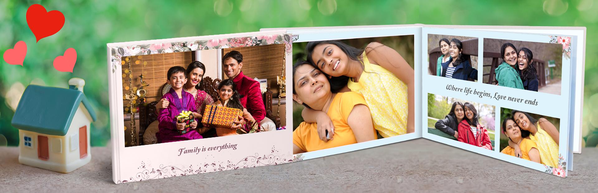 Family Photo Book Printing - Picsy