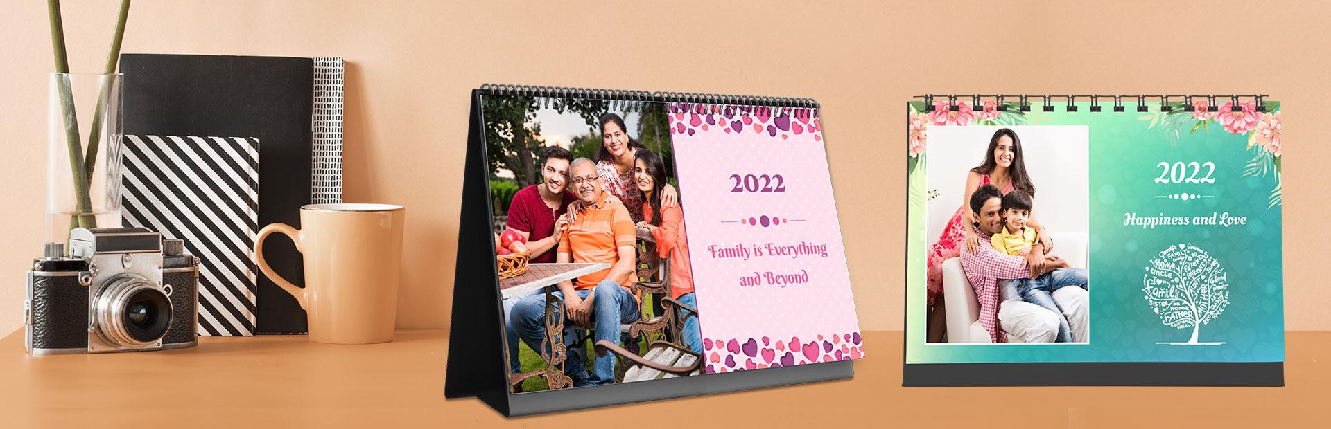 Family Desk Calendars Online