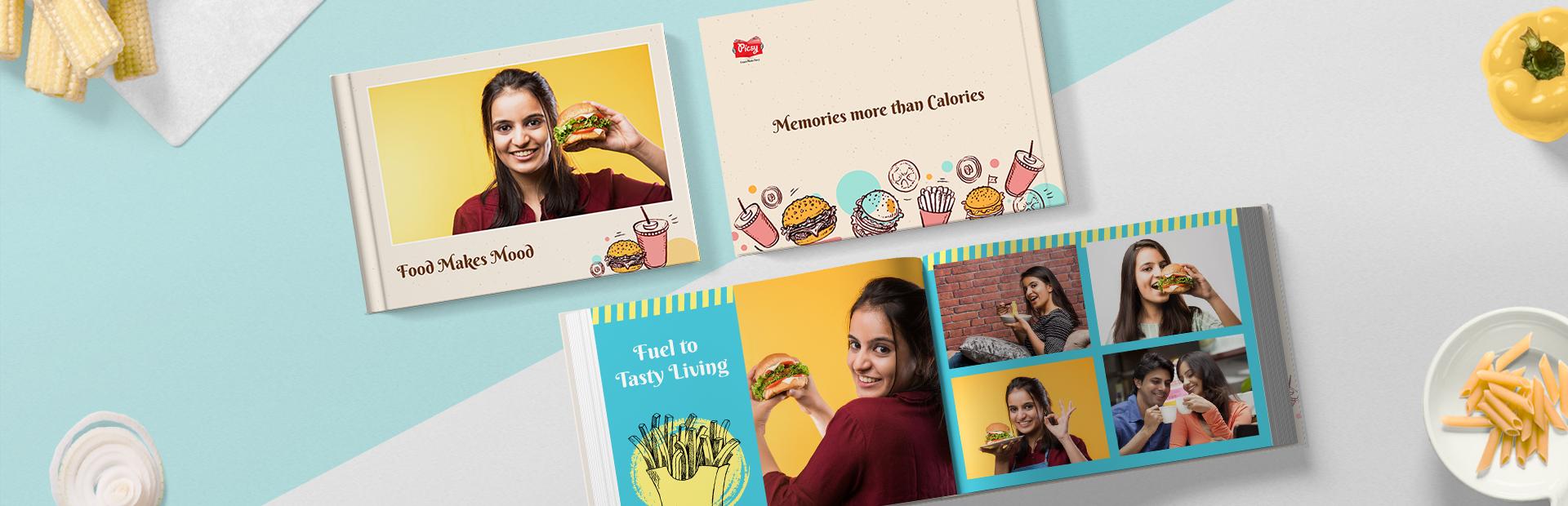 Food Lovers Custom Photo Books