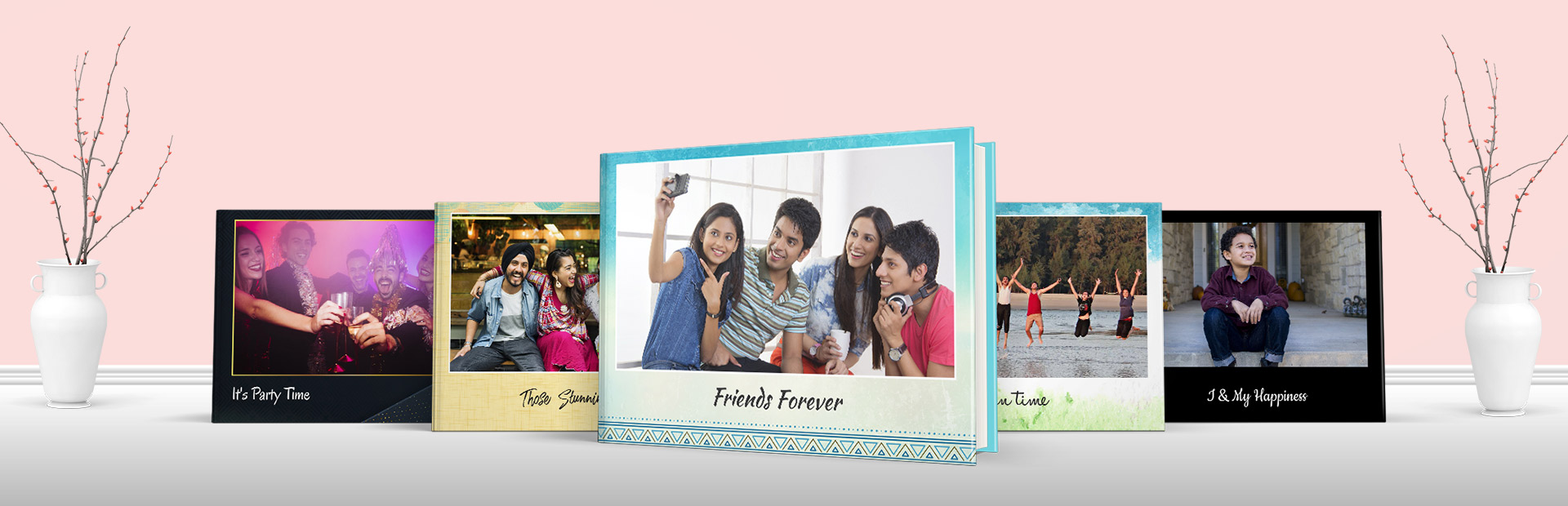 Friends Personalized Photo Book Themes
