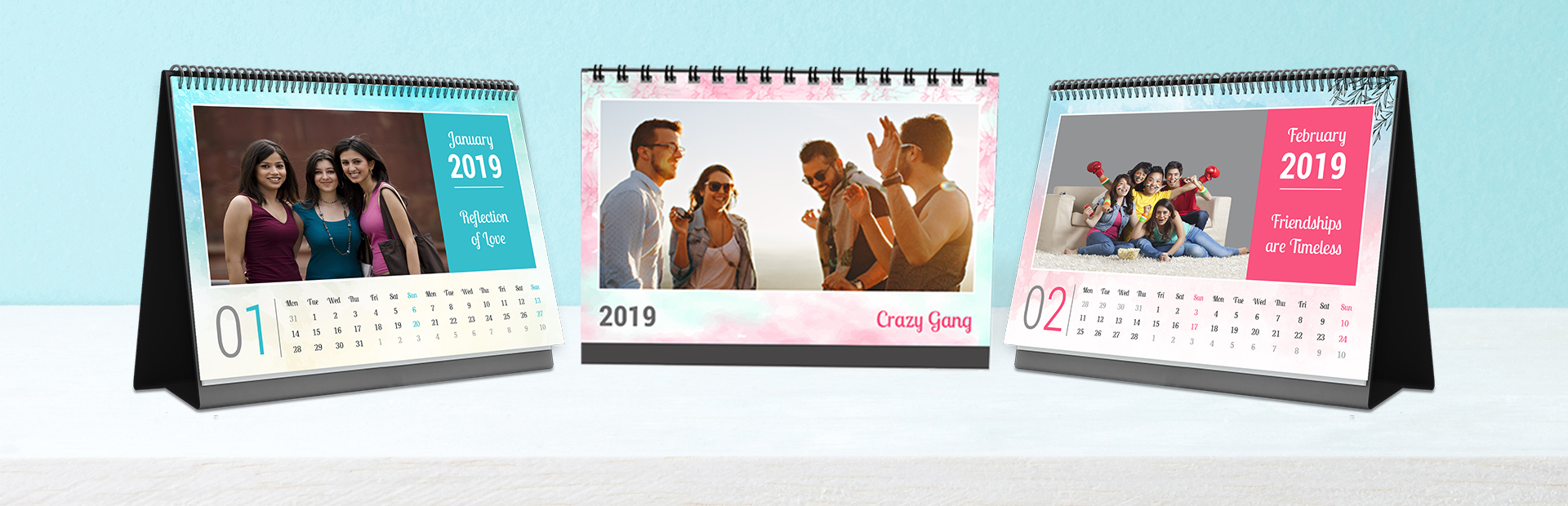 Friendship Bonds Photo Calendars Online