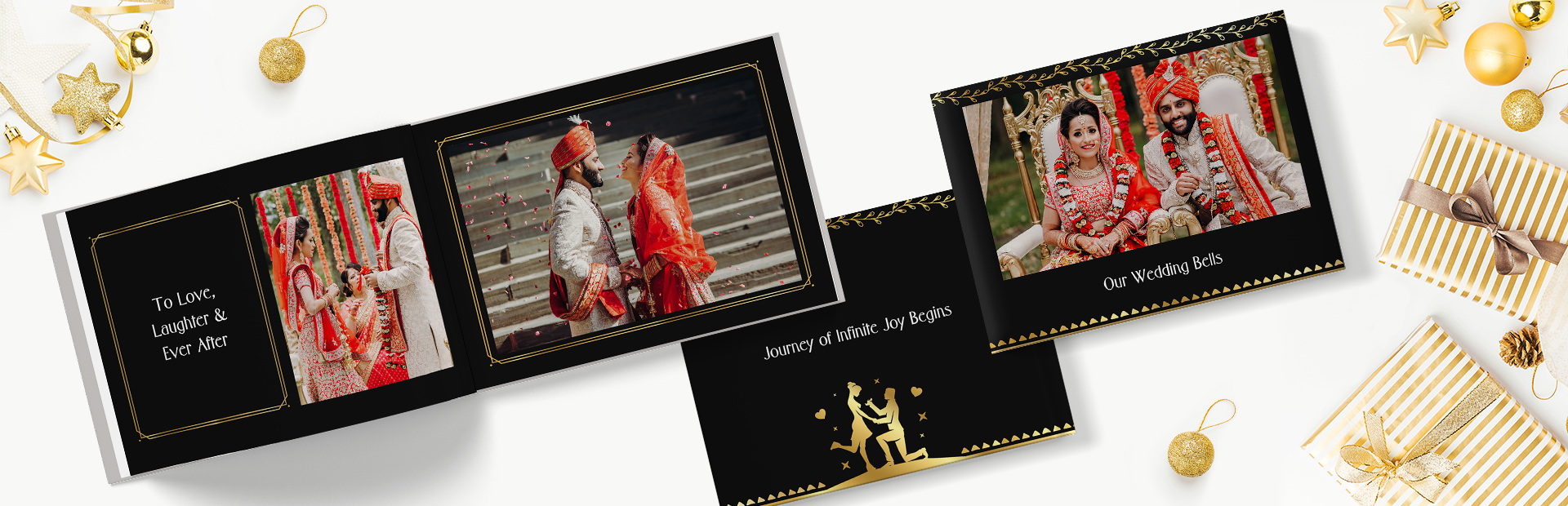 Gilded Wedding Photo Books Online