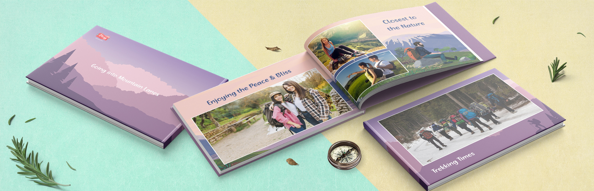 Happy Go Trekking Custom Photo Books
