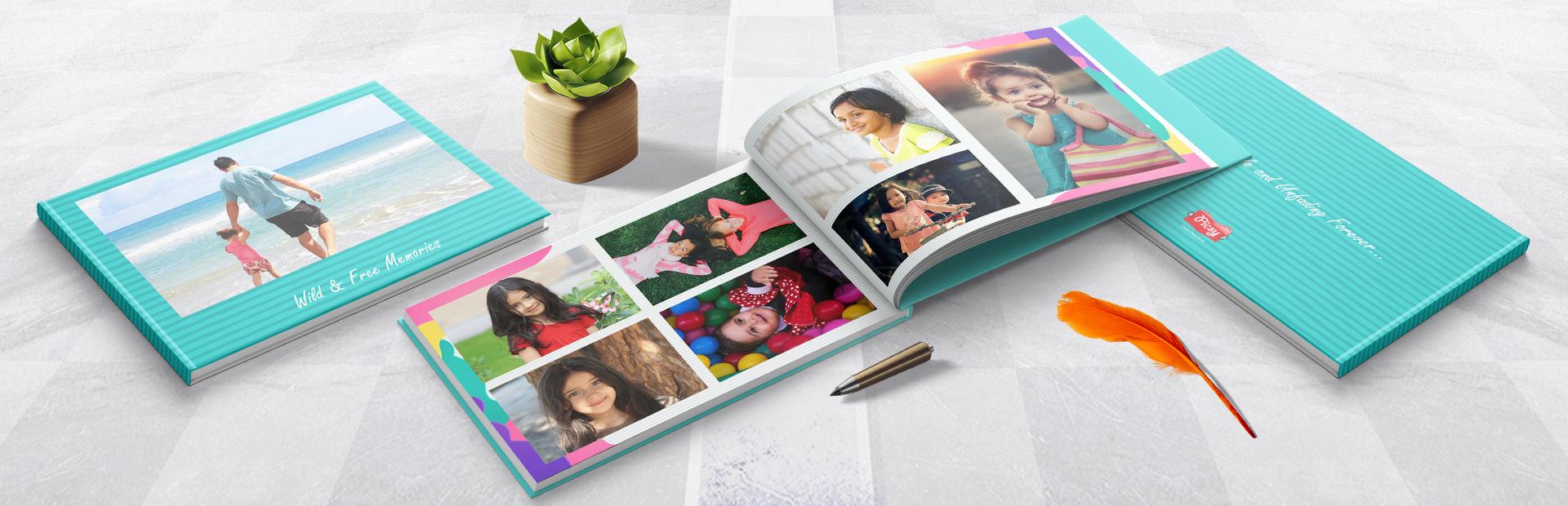 Happy to go jazzy Personalized Photo Books Online