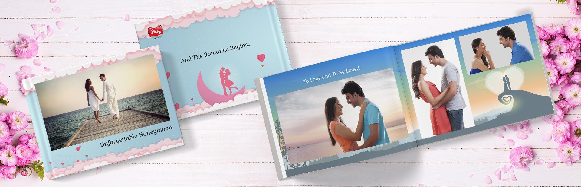 Honeymoon Memories Photo Books Online