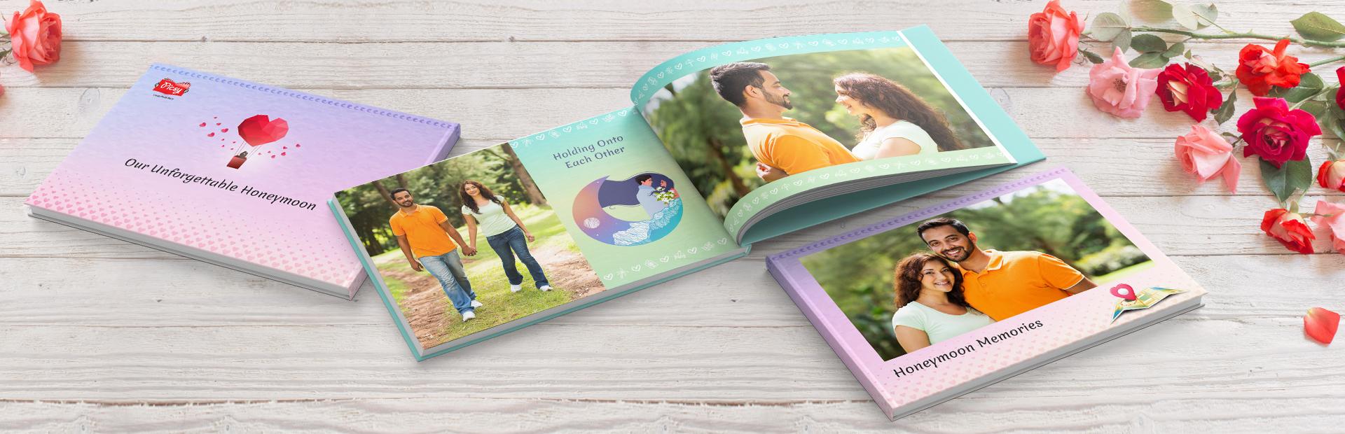 Honeymoon Memorybook Printing