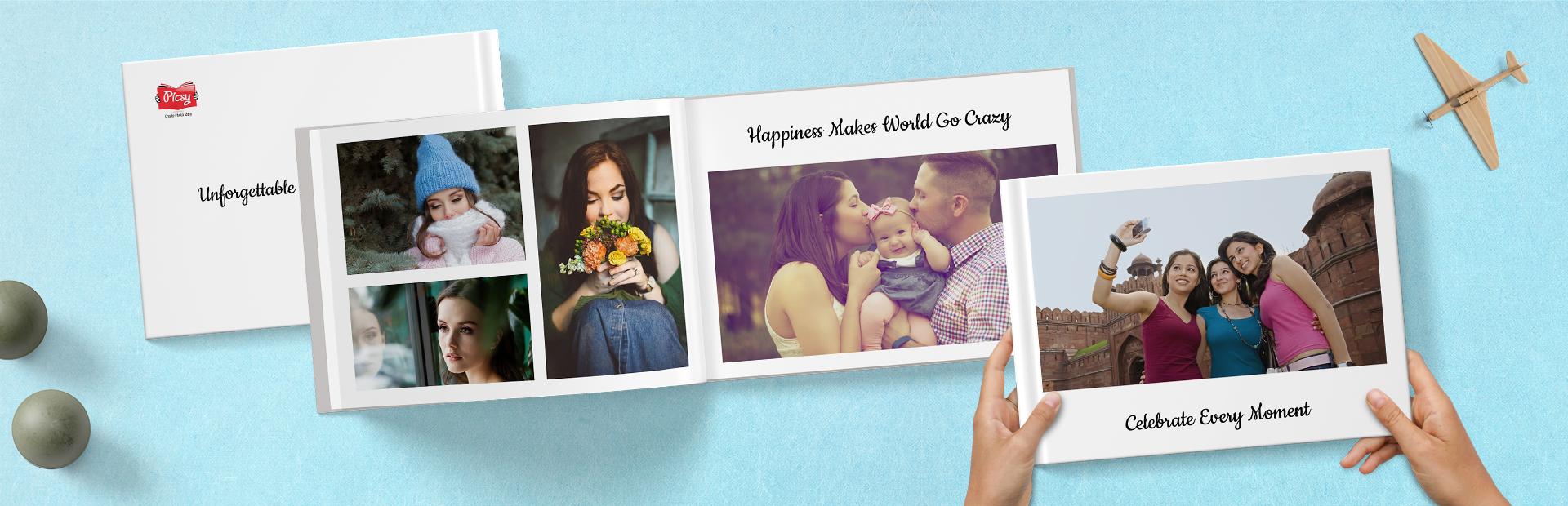 Ink It White Custom Photo Books