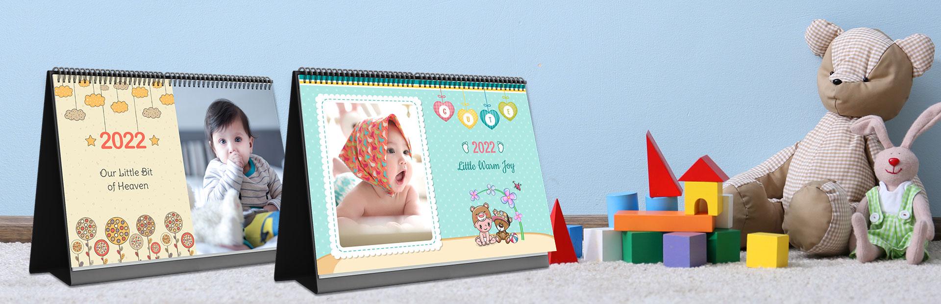 Kids Desk Calendars Online