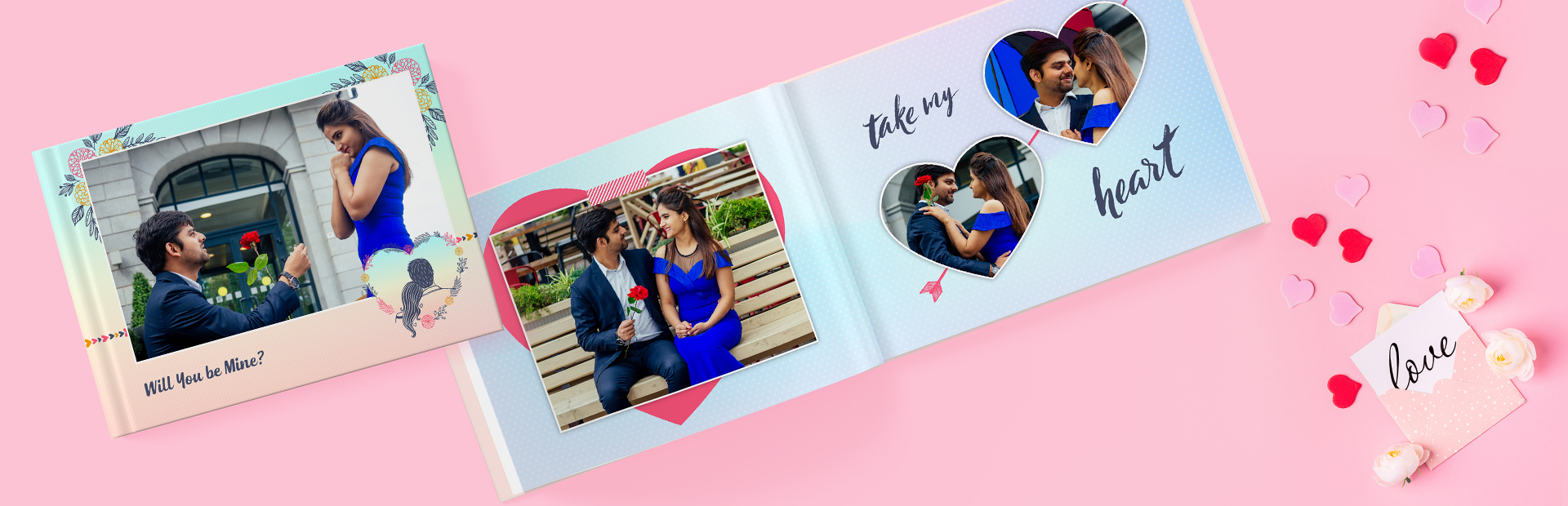 Love Proposal Photo Books