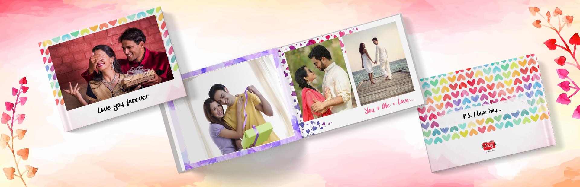 Love story Photo Books Online
