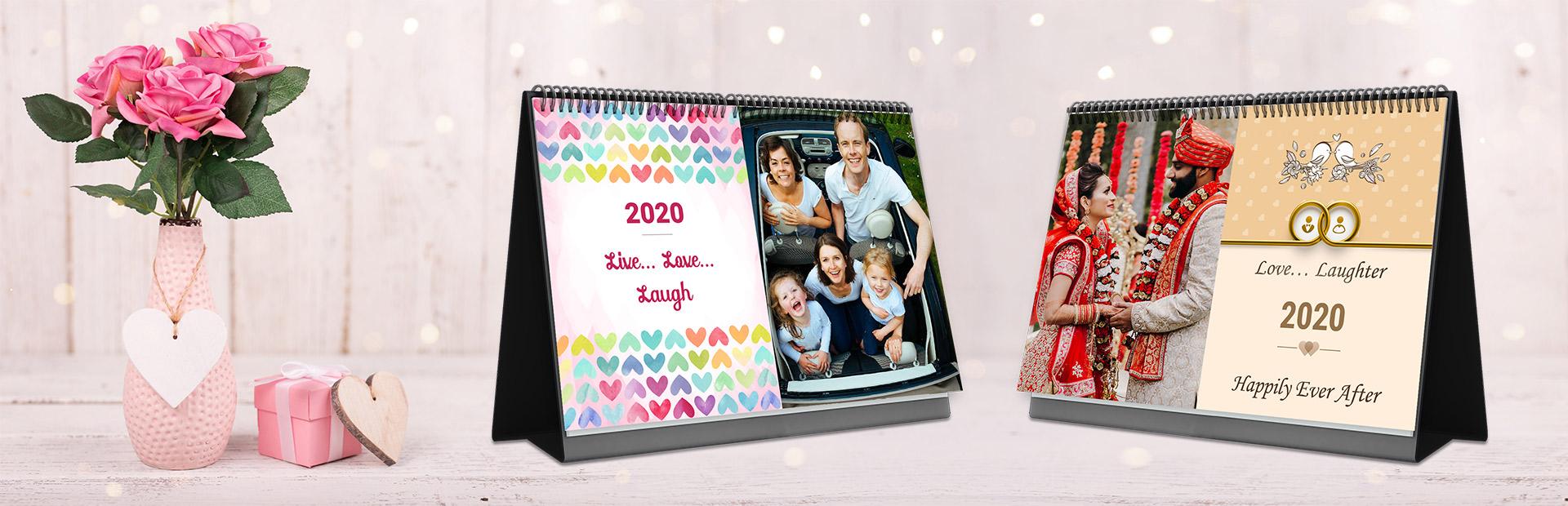 Love Desk Calendars Online