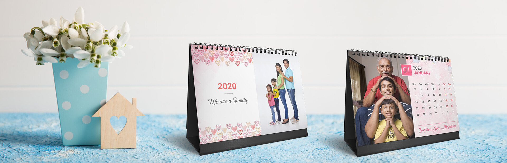Lovely Family Photo Calendars Online