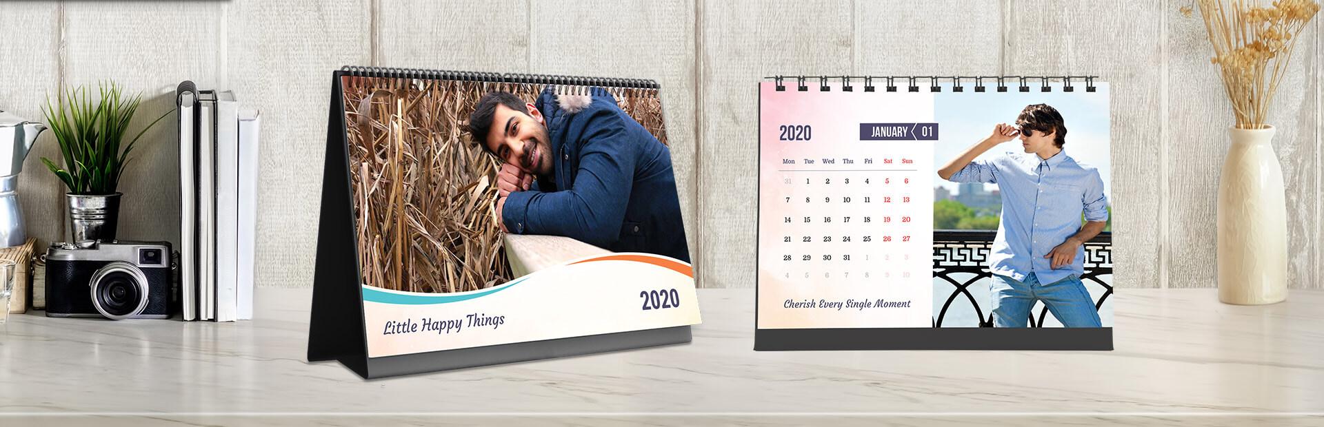 Modern Hues Custom Photo Calendars
