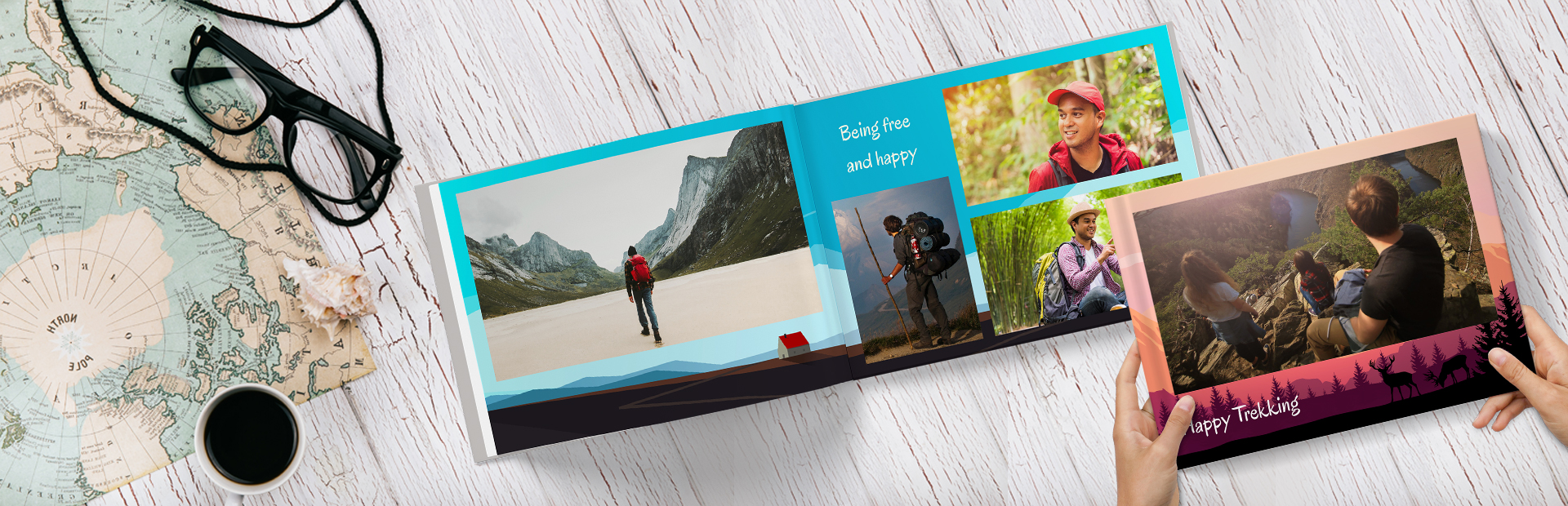 Mount Vacations Custom Photo Books