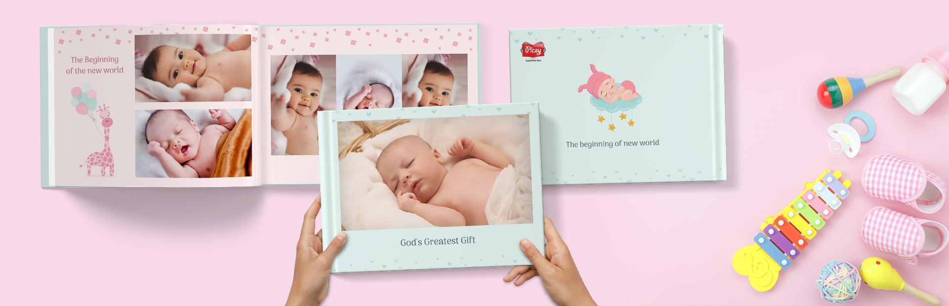 Cute Baby Photo Books