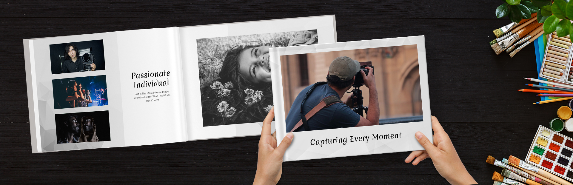 Custom Portfolio Photo Books Online