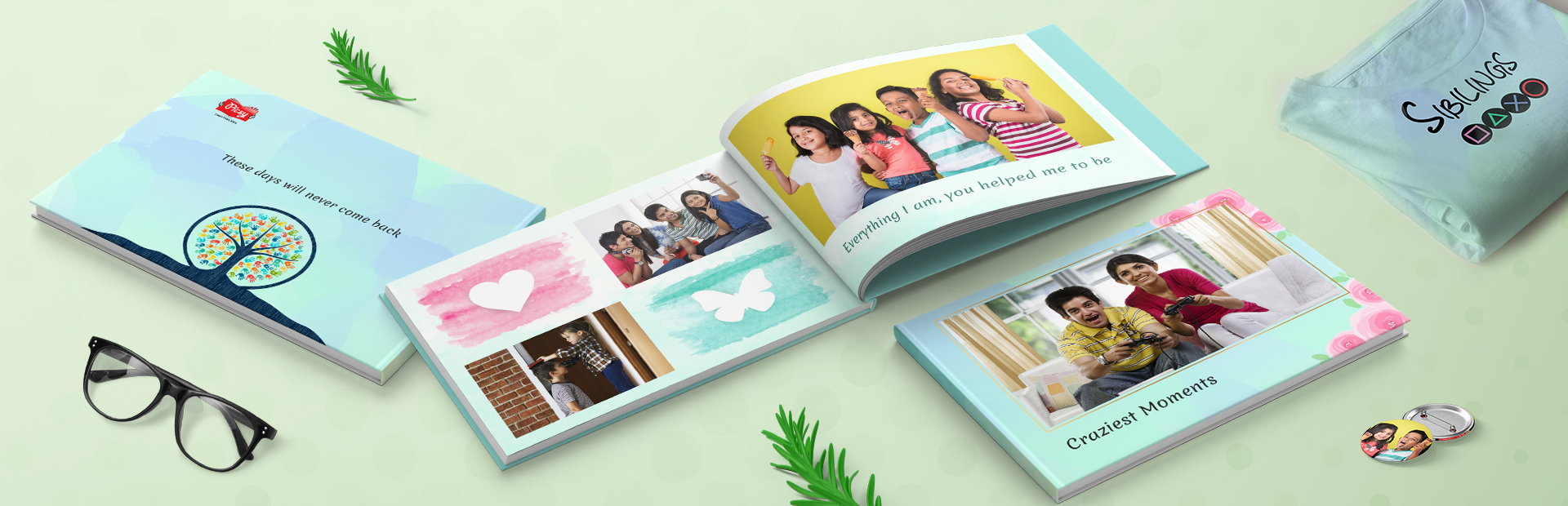 Siblings Photo Book Printing