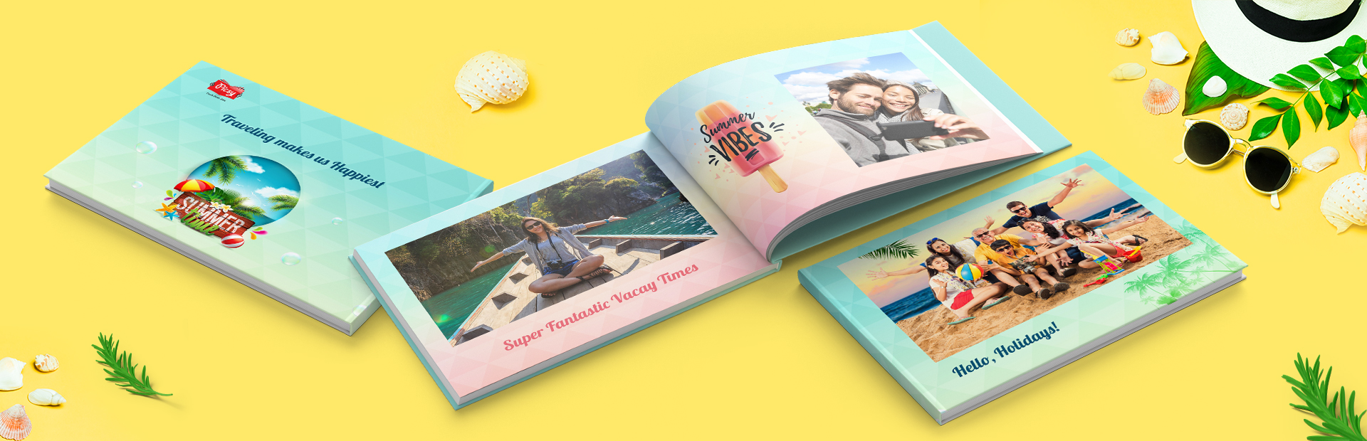 Summer Vacation Photo Books Online
