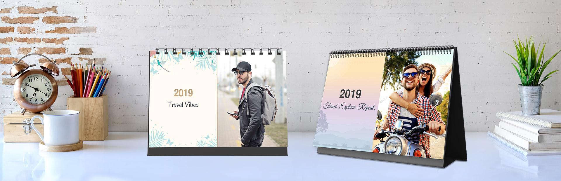 Travel Desk Calendars Online