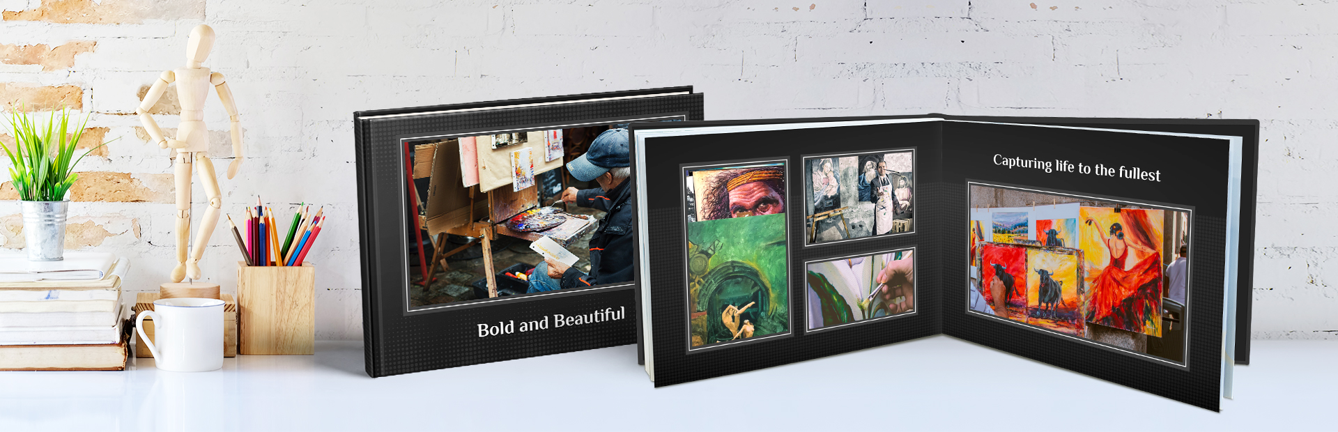 Trendy Portfolio Photo Books