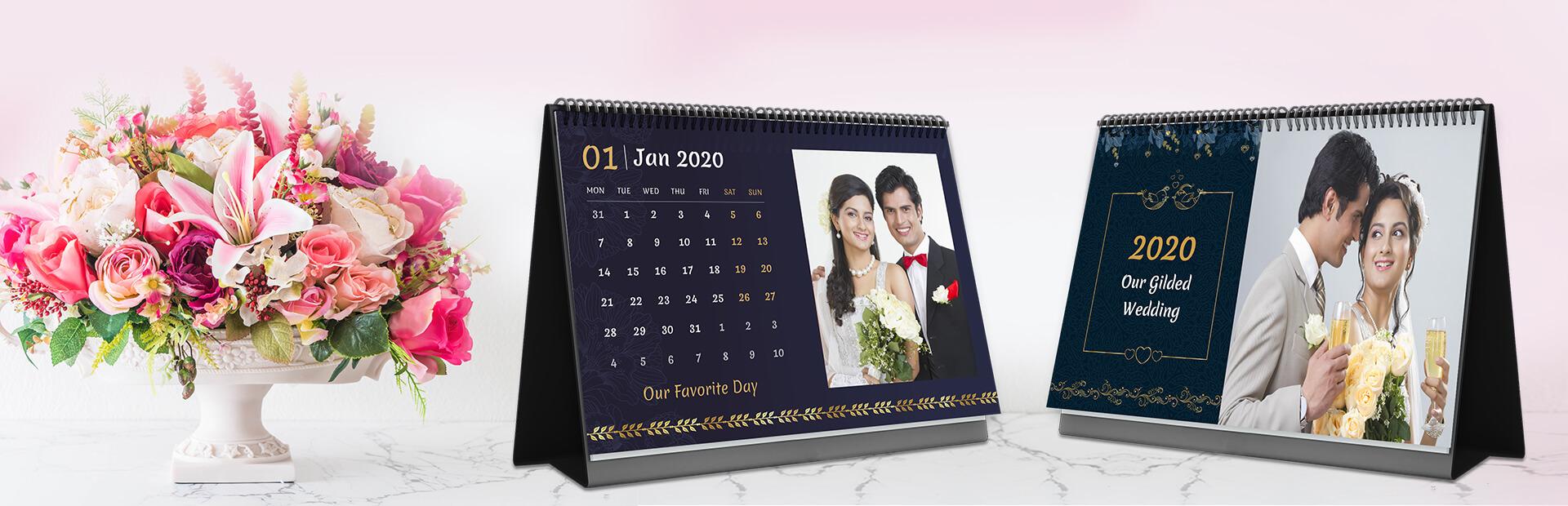 Wedding Vibes Photo Calendars Online